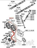 Ремень ГРМ оригинал CU2W Mitsubishi Outlander 2.0
