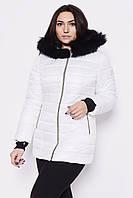 Женская модная белая зимняя куртка, цвета в ассортименте
