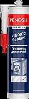 Герметик силіконовий 310 мл термостійкий чорний, PENOSIL