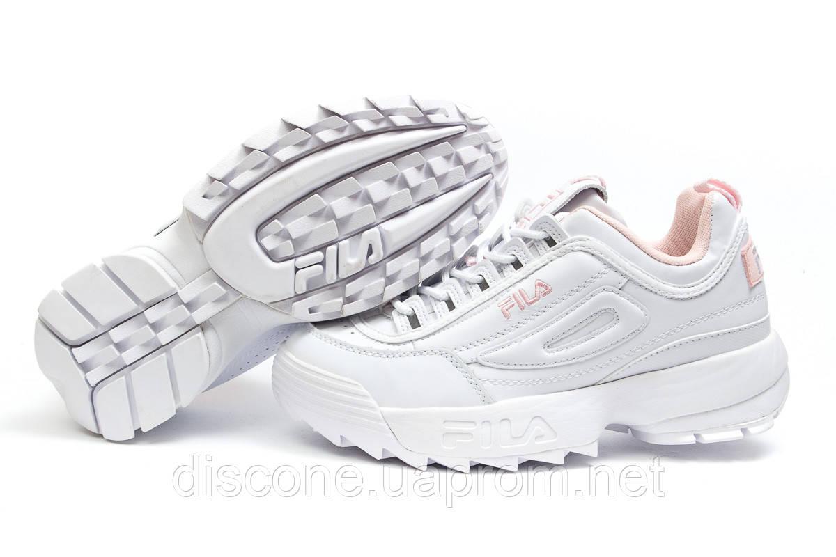 Кроссовки женские ► Fila Disruptor 2,  белые (Код: 14564) ►(нет на складе) П Р О Д А Н О!