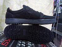 Стильные комфортные нубуковые кроссовки Madoks