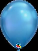 Шары11'хром Qualatex Q58278 Синий, (28 см) 10 шт