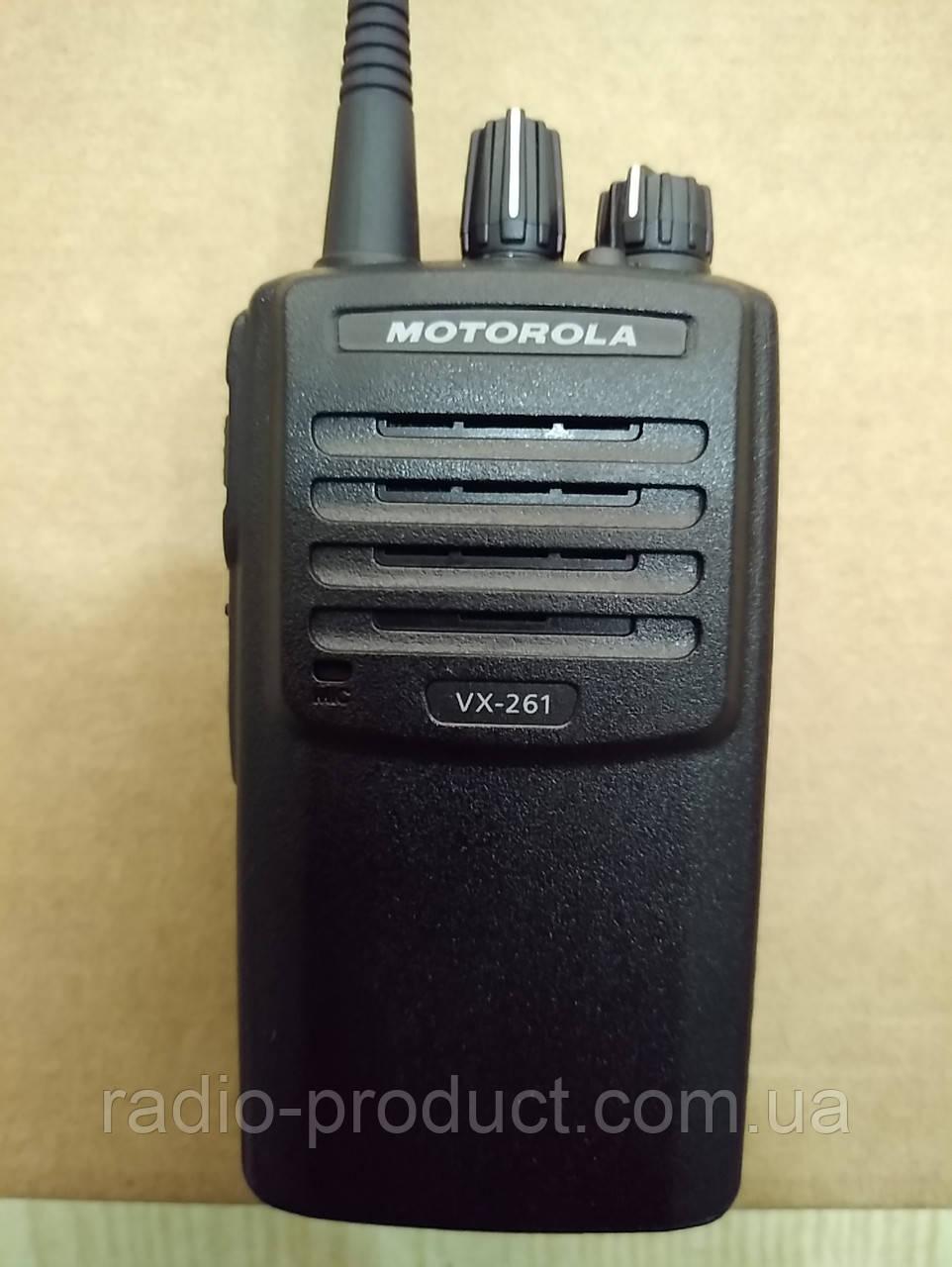 Motorola VX-261 UHF, + FNB-V134, профессиональная портативная радиостанция