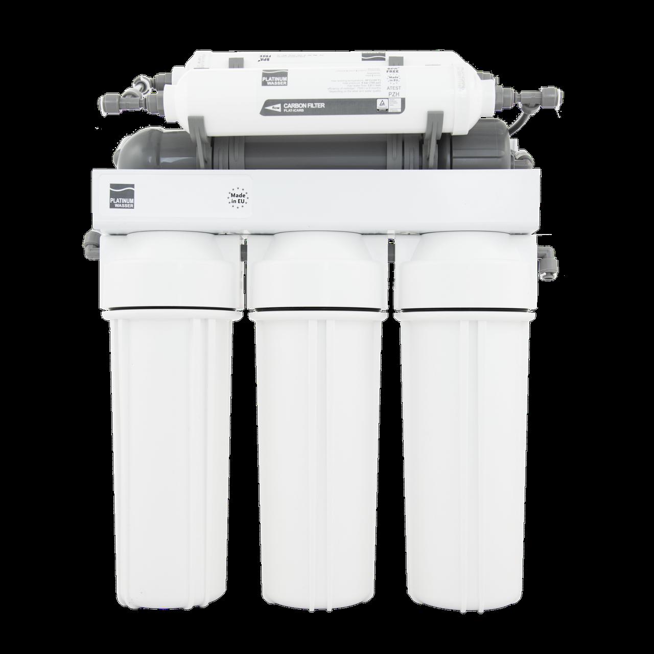 Фильтр обратного осмоса RO6Р PLAT-F-ULTRA6В с насосом Platinum Wasser, Германия