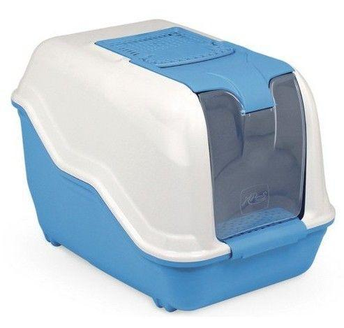 Туалет для кошек MPS Netta MAXI 66х49х50 см - закрытый туалет с фильтром и лопаткой