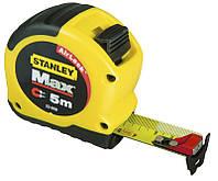 Рулетка магнітна Max 8 м х 28 мм Stanley ( 0-33-959 ) | Рулетка магнітна Max 8 м х 28 мм Stanley ( 0-33-959 ), фото 1