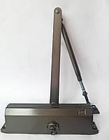 Доводчик дверной Kale KD002/50-401 с регулировкой 25-120кг бронза (Турция)