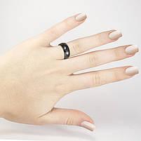 Кольцо керамическое граненое Арт. RN004CR (17.5), фото 2