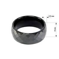 Кольцо керамическое граненое Арт. RN004CR (17.5), фото 5