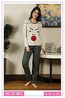 Пижамы женские осень-зима в категории домашняя одежда женская в ... 425f7763f019b