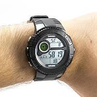 Часы спортивные Skmei 1027 Black, фото 2