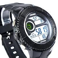 Часы спортивные Skmei 1027 Black, фото 4
