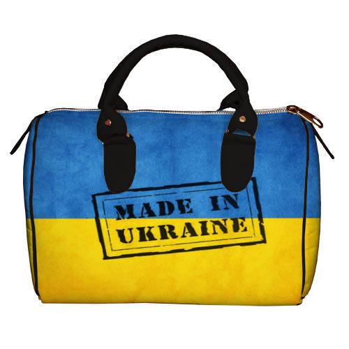 Сумка бочонок Украина