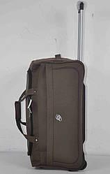 Дорожная сумка на колесах с телескопической выдвижной ручкой