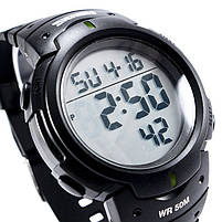 Часы спортивные Skmei 1068BKB Black-Green, фото 4
