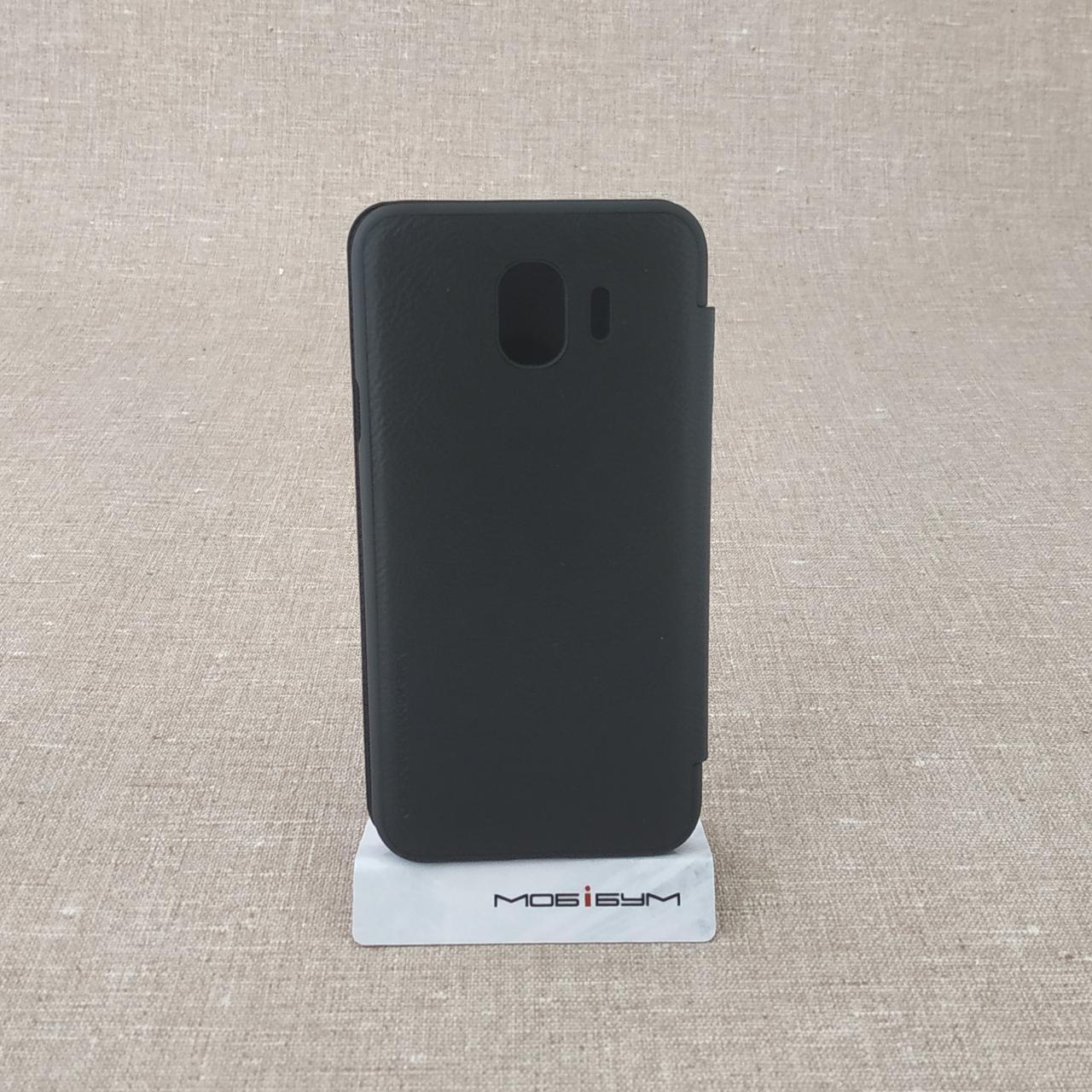 Nillkin Qin Samsung Galaxy J4 J400 black (J400) 2018 Для телефона