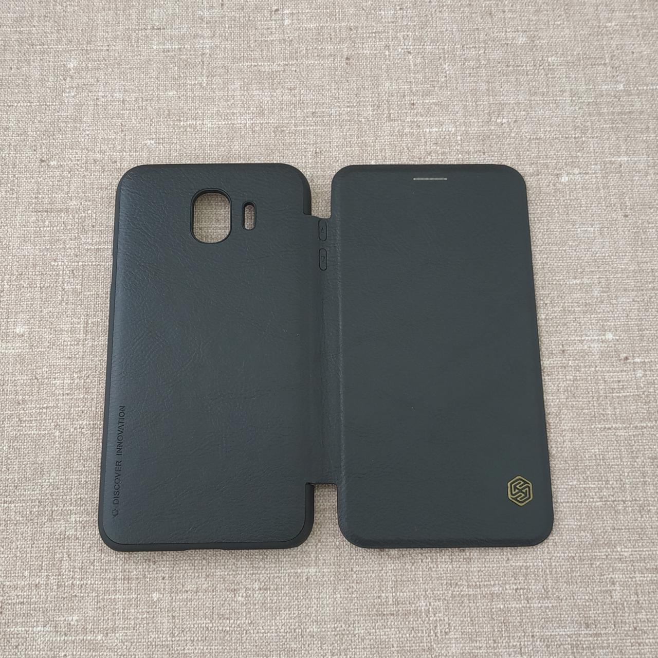 Чехол Nillkin Qin Samsung Galaxy J4 J400 black