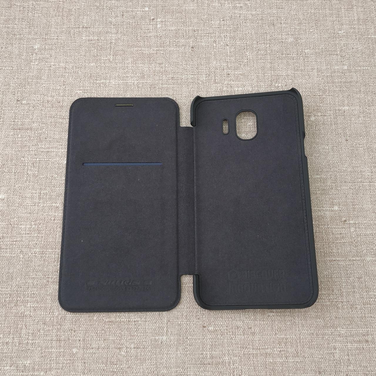 Чехол Nillkin Qin Samsung Galaxy J4 J400 black (J400) 2018