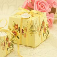 Бонбоньерка с тюльпанами (арт. FB-3035)