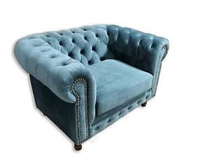 """Классическое кресло """"Честер Арт"""" Алькор (125см), фото 2"""