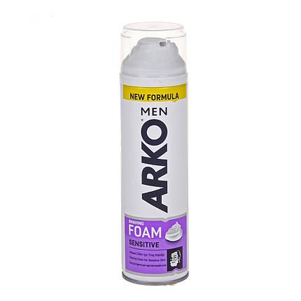 Пена для бритья ARKO Men Sensitive 200ml, фото 2