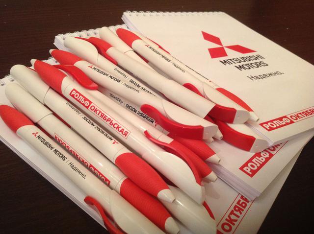 Ручки и блокноты с логотипом в Днепре