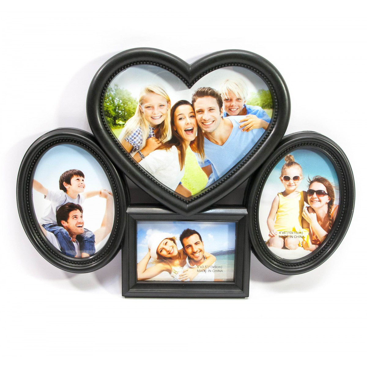 Фоторамка для семейных фото черная