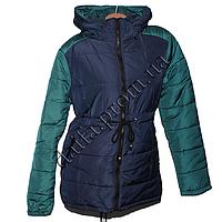 Молодежная демисезонная куртка 3323-1g (р-р 44-52) на синтепоне оптом в Одессе.