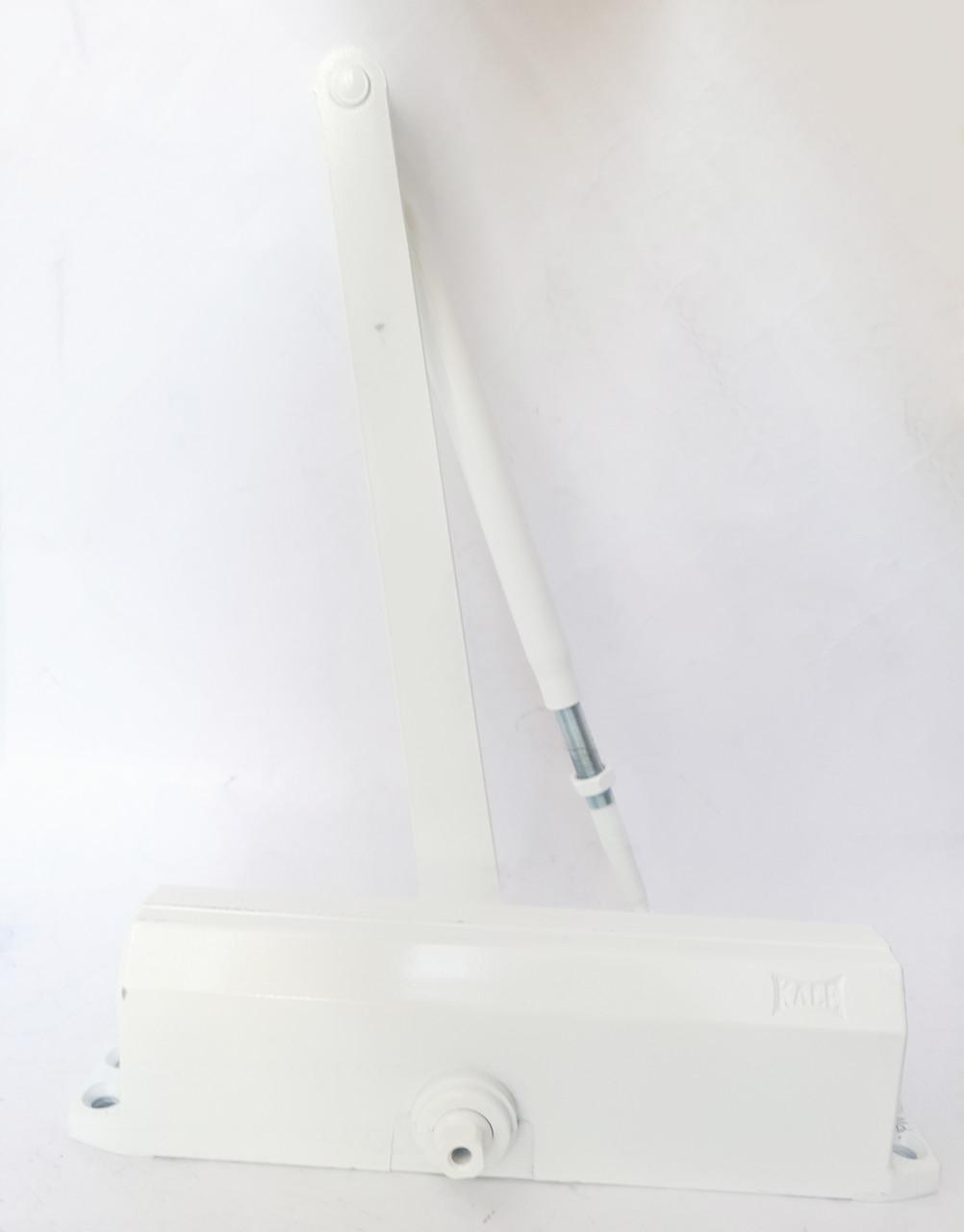 Доводчик дверной Kale KD002/50-402 с регулировкой 25-120кг белый (Турция)