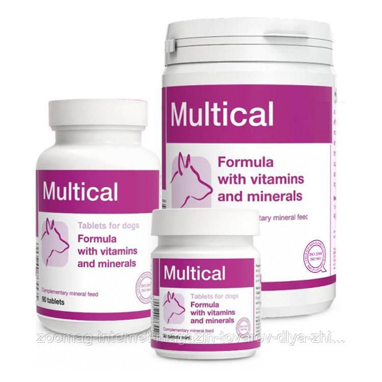 """Вітаміни для правильного розвитку і функціонування організму собаки """"Multical"""" 800г., Dolfos™"""