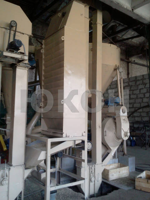 Производство топливной пеллеты со ствола дерева. Линия гранулирования на базе ОГМ-1,5 (2011 г.) 10