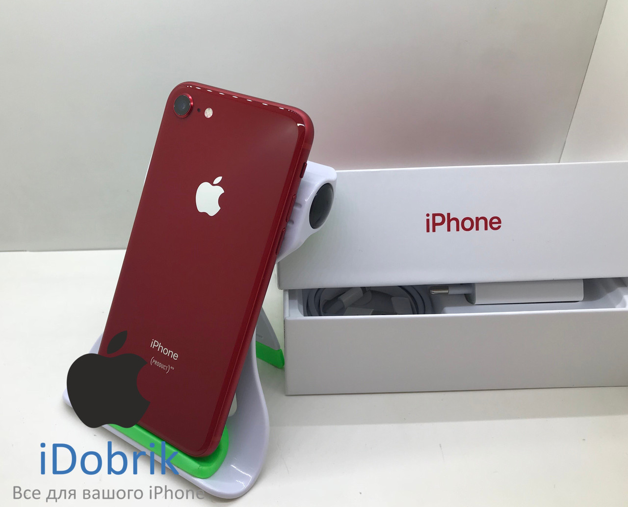 Телефон Apple iPhone 8 256gb Product RED Neverlock 9/10
