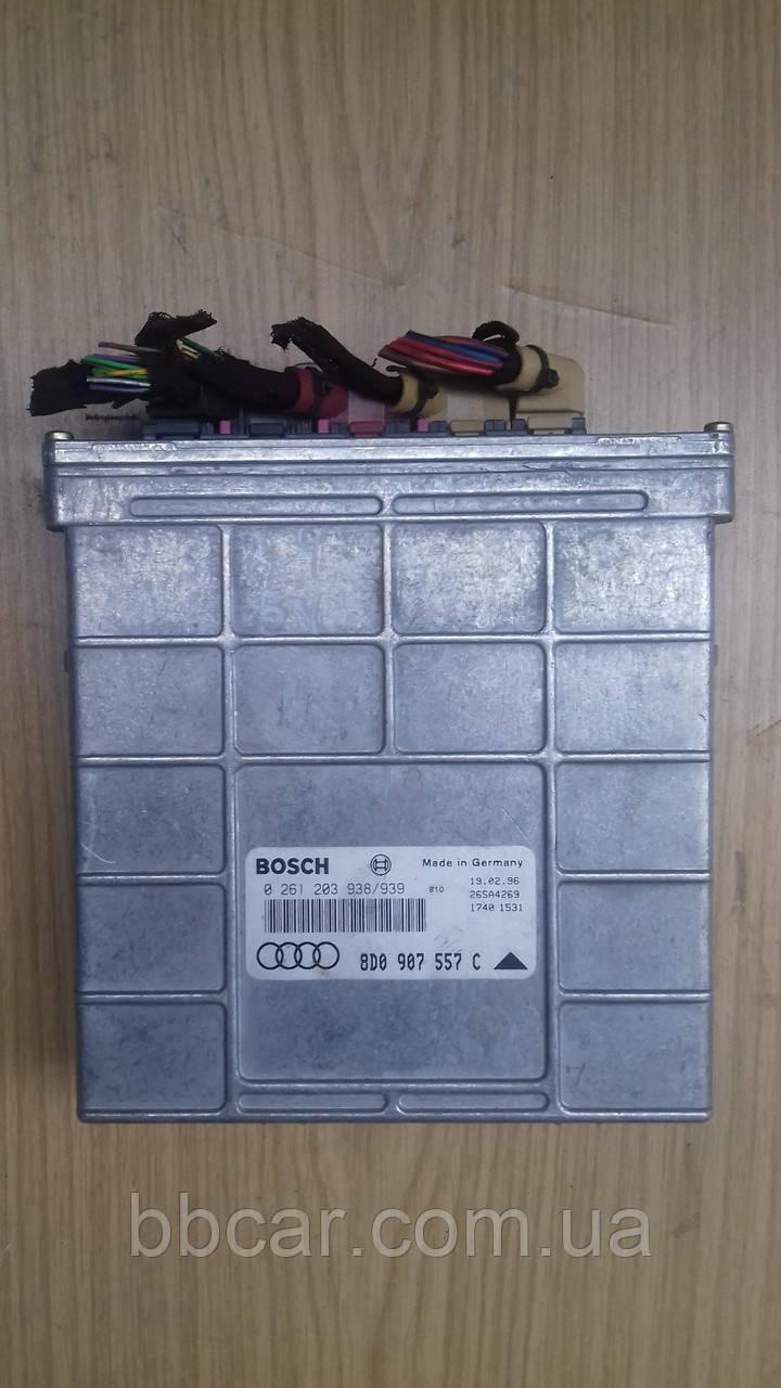 Блок управления двигателем BOSCH Audi A-4 V5 ( 0261203938 |939 \  8D0907557C )