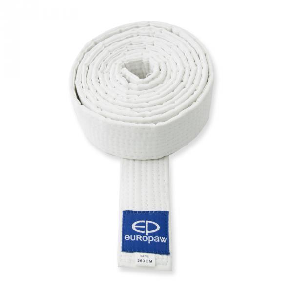 Пояс для карате білий Europaw