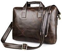 Сумка мужская Vintage 14240 Коричневая, Коричневый, фото 1