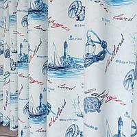 Шторы для детской комнаты. Стильные и модные шторы в детскую. Красивые льняные портьеры.