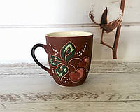 Керамическая чашка Вишенка, фото 1