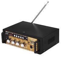 Практичный усилитель звука AK-698E FM USB + Караоке Высокое качество Удобный дизайн Купить онлайн Код: КДН3967, фото 1
