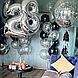 Фольгований куля - цифра 2 срібло 102 см, Flexmetal Іспанія, фото 5