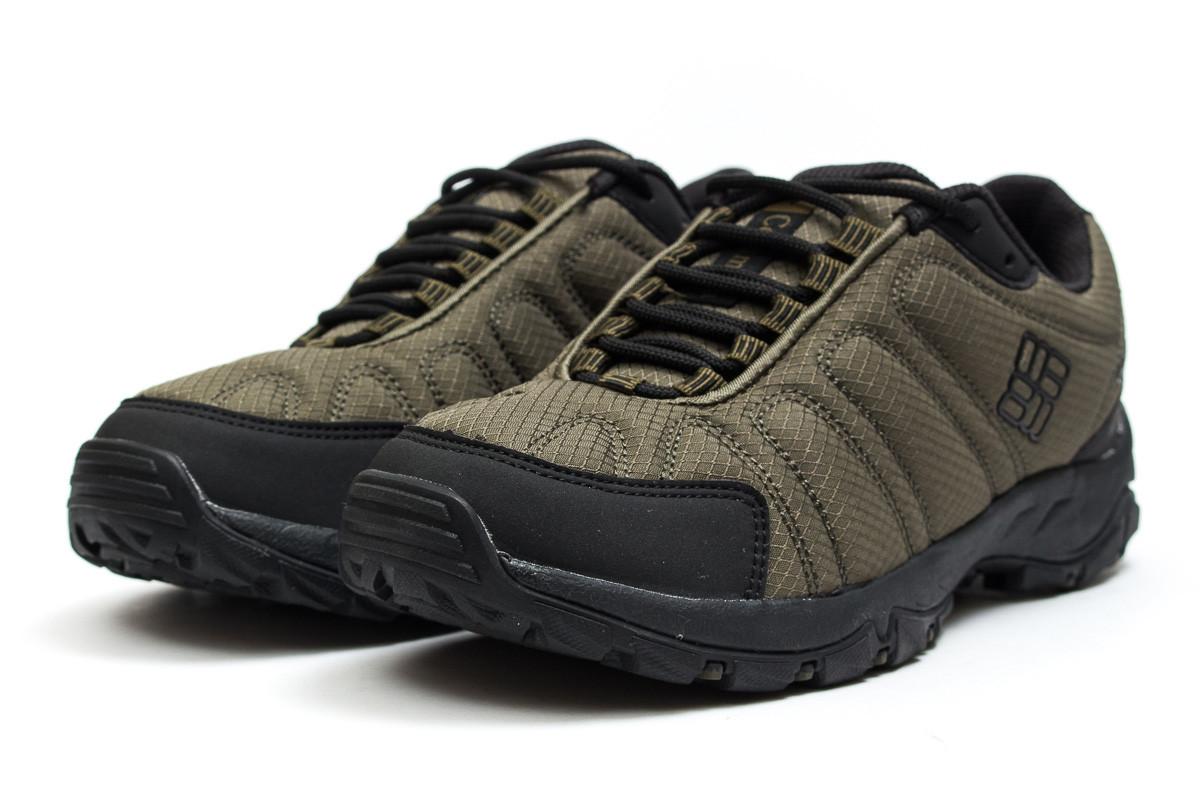 Спортивные мужские кроссовки Columbia Omni-Grip (Коламбия Омни-Грип) цвета  хаки - реплика 6ffca066f93