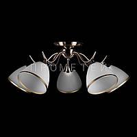 Классическая потолочная люстра на 5 лампочек P5-N2621/5/AB