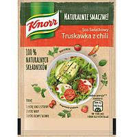 Соус Knorr  к салату с клубникой и перцем красным острым  8 г
