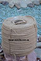 Канат джутовый (веревка джутовая) 6 мм - 1000 м