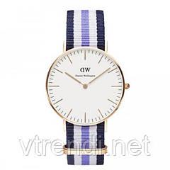 Часы Daniel Wellington ( blue-white-purple )