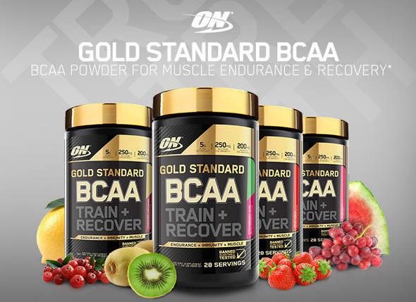 Амінокислоти Optimum Nutrition Gold Standard BCAA 280 g, фото 2