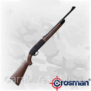 Crosman 2100 В Classic, мультикомпресионная винтовка, 18/200 зарядов, ВВ, пульки