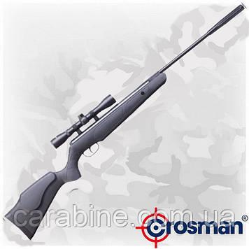 Crosman F4 Classic NP (RM) пневматическая винтовка с газовой пружиной и оптикой 4х32 (Кросман Ф4)