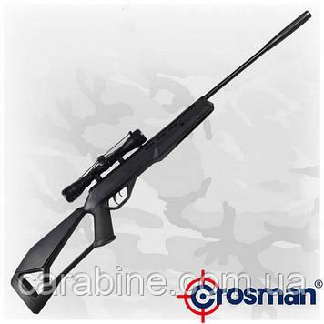 Crosman Fire F4 NP (RM) пневматическая винтовка с газовой пружиной и оптикой 4х32 (Кросман Фаер Ф4)