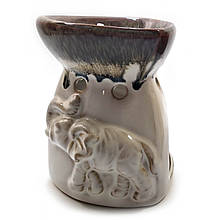 Аромалампа керамическая Слоны