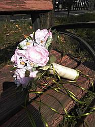 Букет дублёр нежно розового цвета